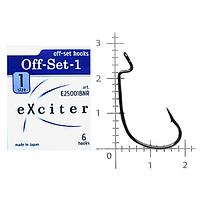 Крючки Exciter Off-set-1