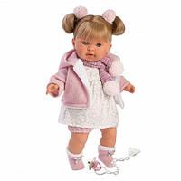 Кукла Llorens 42262 плачущая Александра 42 см блондинка, фото 1