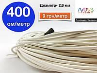 Карбоновый греющий (нагревательный) кабель 400 ом/метр для птичников | Гарантия 10 лет | Nova Therm