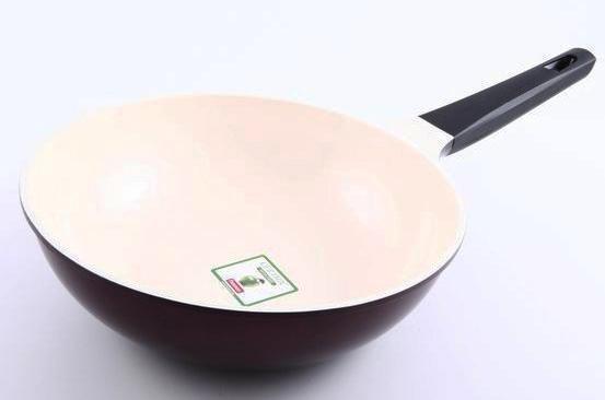 Сковорода глубокая Fissman Olympic Ø26см с керамическим антипригарным покрытием, фото 1