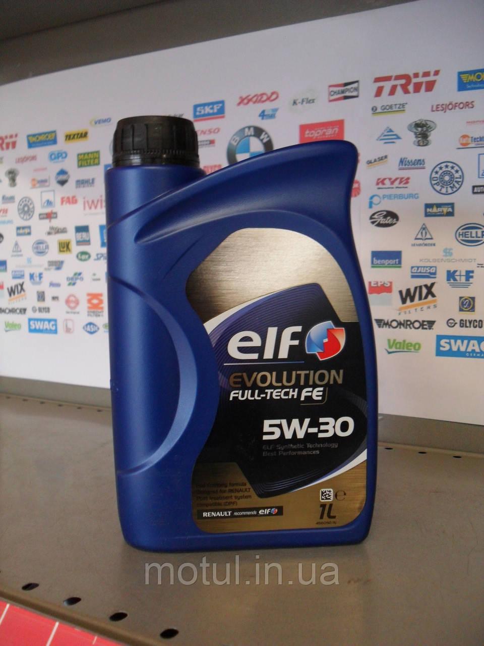 Моторне масло Elf Evolution Fulltech fe 5w30