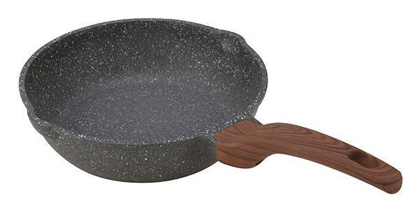 Сковорода-сотейник Fissman Dakjjim Ø24см с антипригарным покрытием Ilag Granistone, фото 1