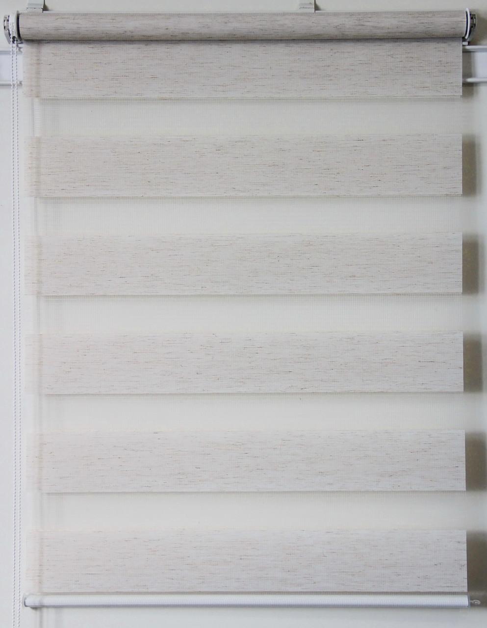 Готовые рулонные шторы 775*1300 Ткань ВН-08 Лён