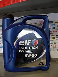 Моторное масло Elf Evolution 900 Sxr 5w30 4л