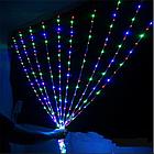 """[ОПТ] Вулична новорічна світлодіодна гірлянда """"Завісу"""", 180LED, 3м*3м, Різнокольорова, фото 5"""