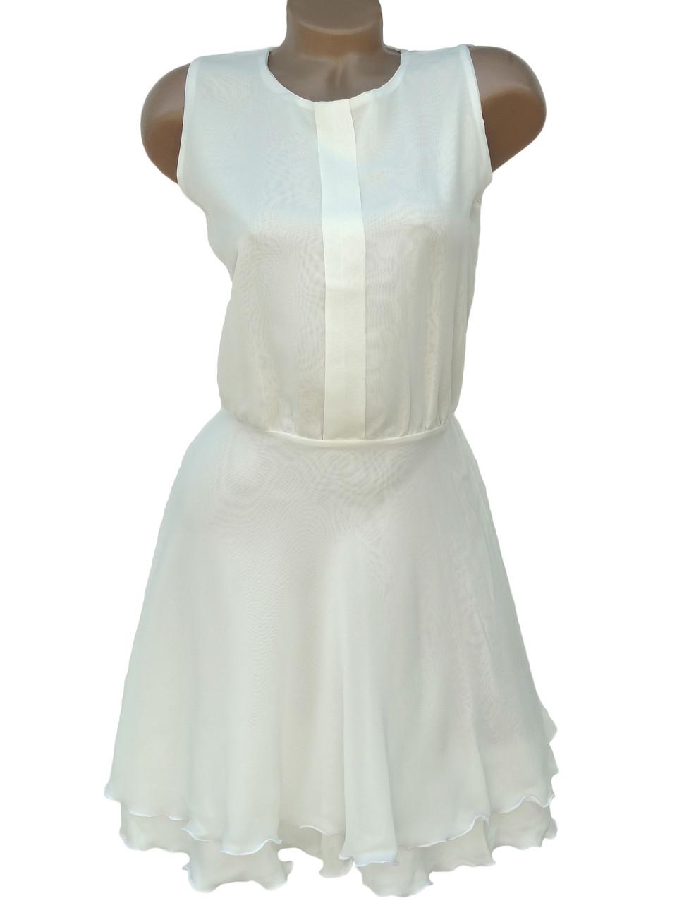 Легкое женское платье из шифона ( 42,44)