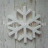 Пенопластовая заготовка Снежинка