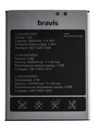 Акумулятор (Батарея) для Bravis A552 Joy Max (3000 mAh) Оригінал
