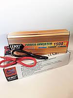 Перетворювач напруги 24v-220v 1500W UKC