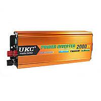 Преобразователь напряжения 24v-220v 2000W UKC