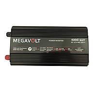 Преобразователь напряжения 12v-220v 4000W MEGAVOLT