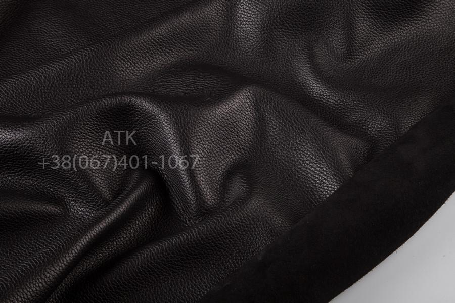 Флотар кожа натуральная 2.0 мм Черный, Обувная, Галантерейная
