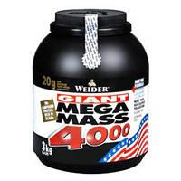 Гейнер Mega Mass 4000 Weider  3000 грамм.