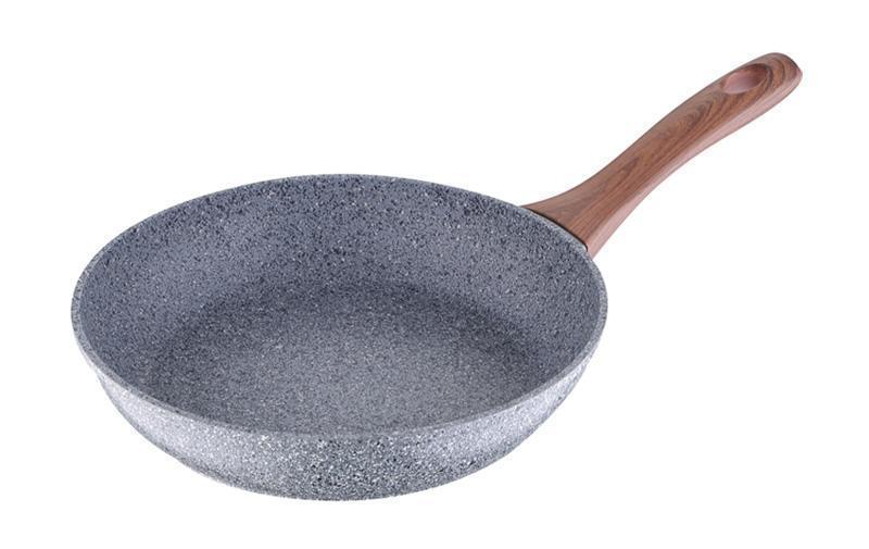 Сковорода Bergner Granito Ø22см алюминиевая с антипригарным покрытием, фото 1