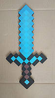 Детский меч Minecraft 60 см. Уценка