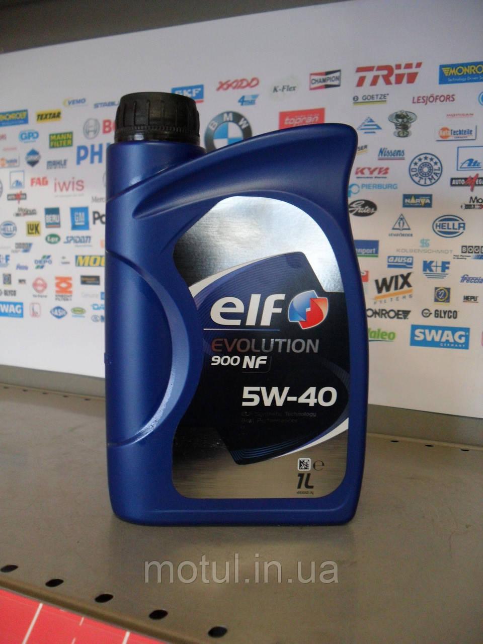 Моторне масло Elf Evolution 900 nf 5w40