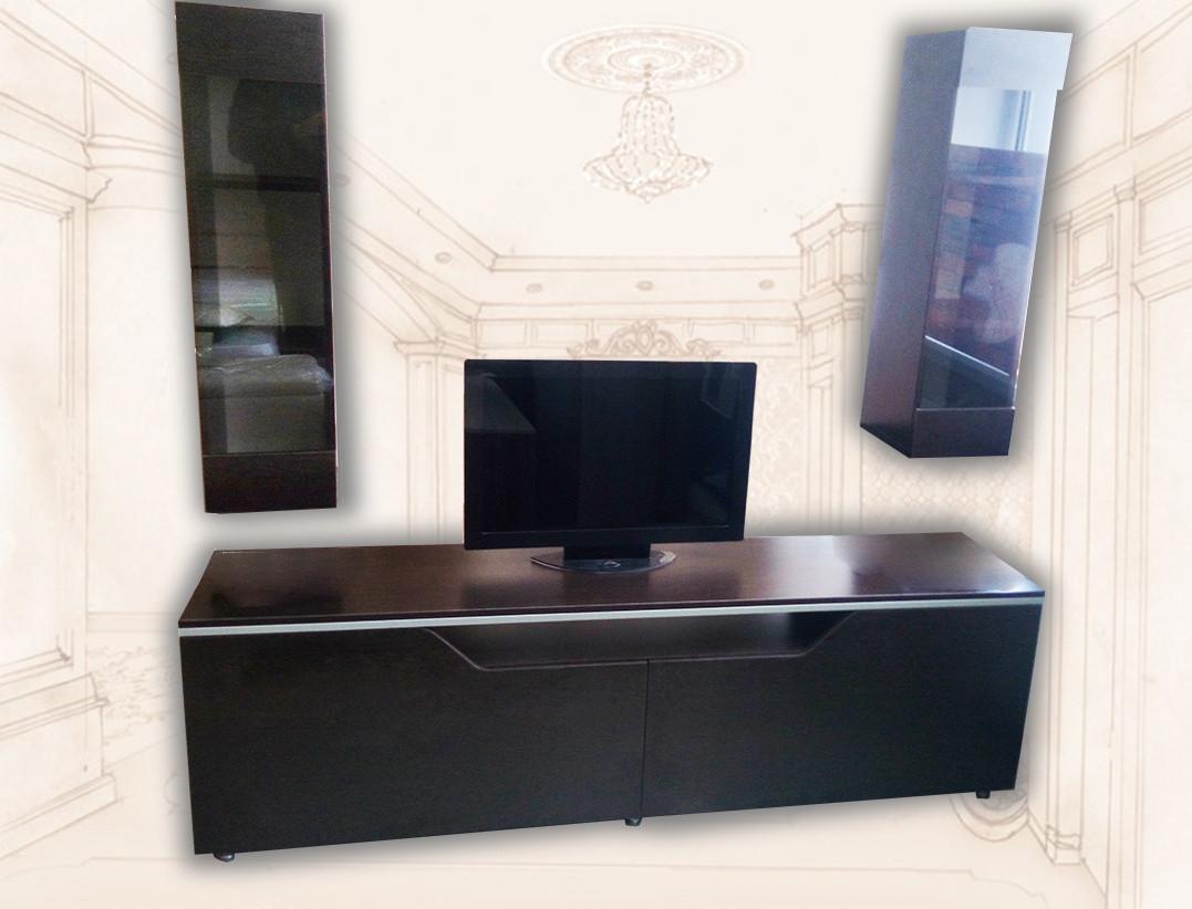 Тумба ТВ с 2-мя шкафами