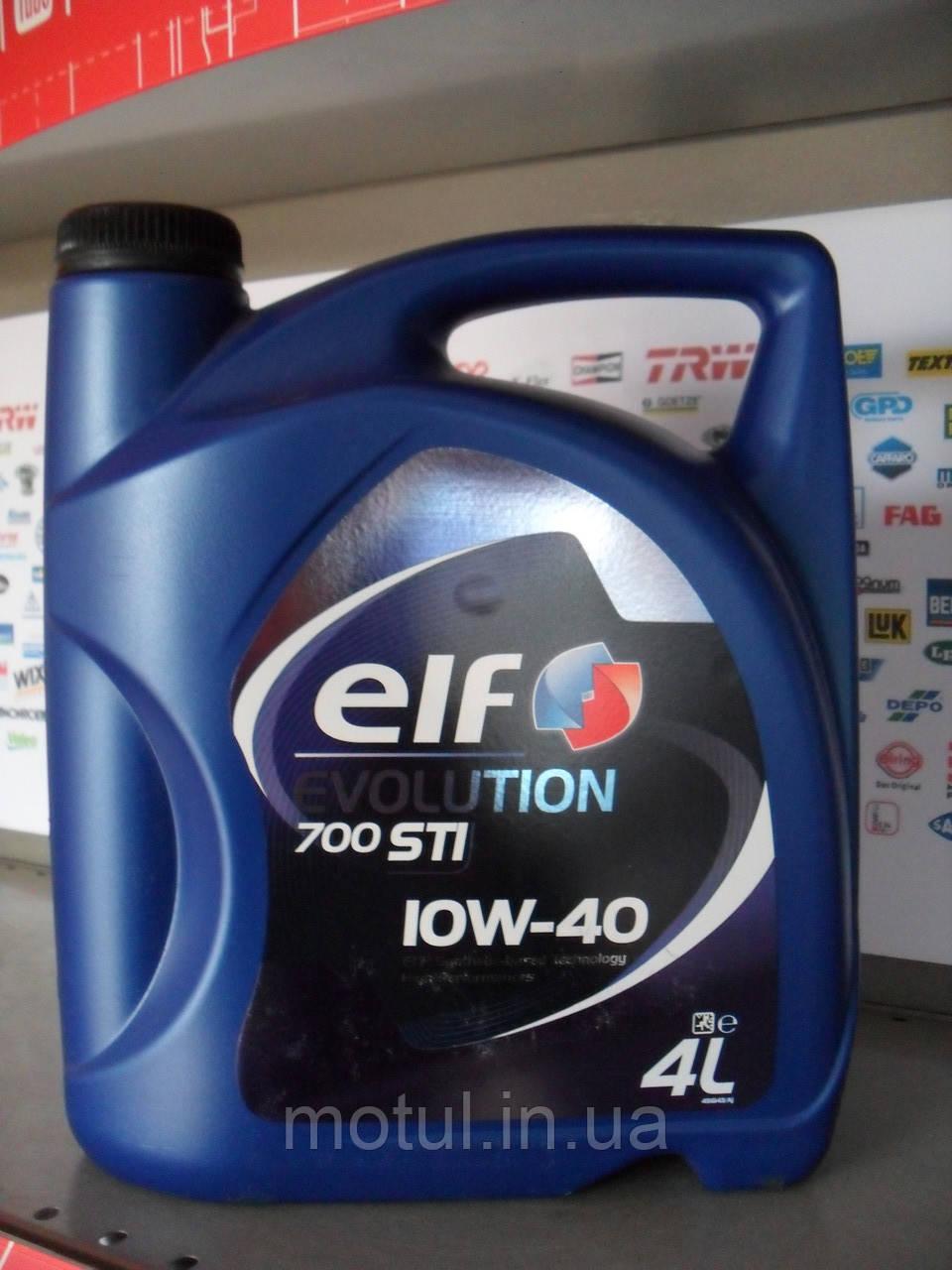 Моторне масло Elf Evolution 700 sti 10w40