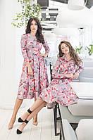 Платье с принтом в расцветках 41266, фото 1