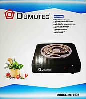 Электроплита Domotec MS-5531 (широкая спираль), фото 1