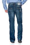 Мужские джинсы Franco Benussi 1102 синие, фото 8