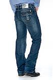 Мужские джинсы Franco Benussi 1102 синие, фото 7