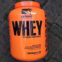 Extrifit 100% Instant Whey Protein 2 kg Сывороточный протеин Екстрифит для набора массы веса сушки похудения