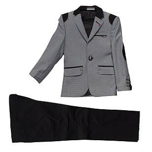 Серый костюм для мальчика, 92, 98, 104, 116 см
