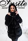 Норковое Автоледи Черное 80см 80/125 0548ЕИШ, фото 3