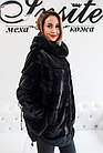 Норковое Автоледи Черное 80см  0538ЕИШ, фото 4