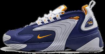 Мужские кроссовки Nike Zoom 2K 'Blue/White' (Люкс копия)
