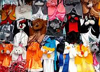 Детские новогодние карнавальные костюмы зверят 2-3-4-5-6-лет - S778