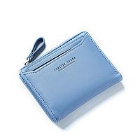 Небольшой кошелек женский голубой код 325, фото 1