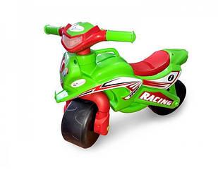 Мотоцикл Doloni Toys спорт Зеленый (0138/50)