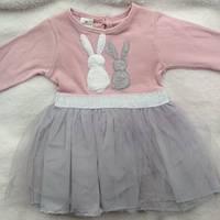 Платье для девочки 74-92 см