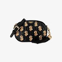 Женская сумочка Moschino Dollar Studs Nappa Clutch