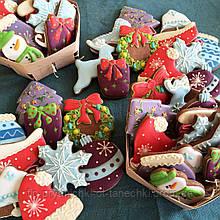 """Новогодний набор пряников """"Новогоднее настроение"""" (большой))"""