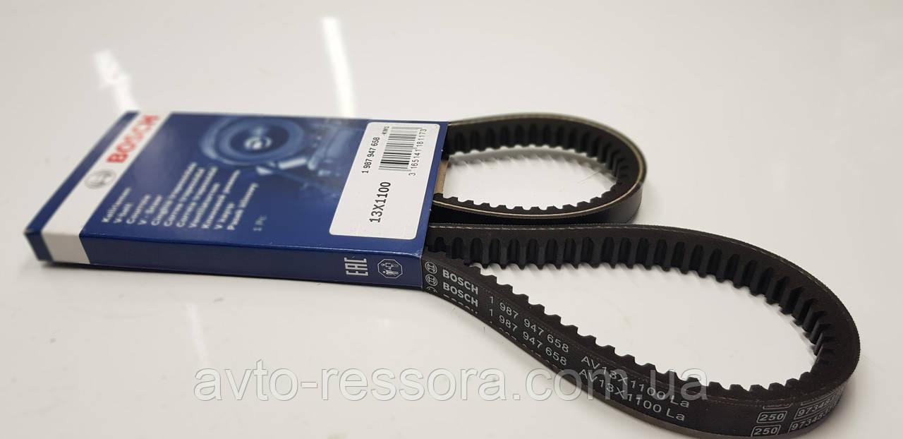 Ремень клиновой водяного насоса AVX 13 x 1100 Эталон, ТАТА 613 Е1 пр-во Bosch