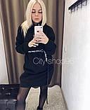 Женское платье спортивного стиля на флисе в расцветках, фото 2