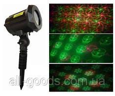 Уличный лазерный проектор RD-7188 (12рисунков) / проектор лазерный для улицы