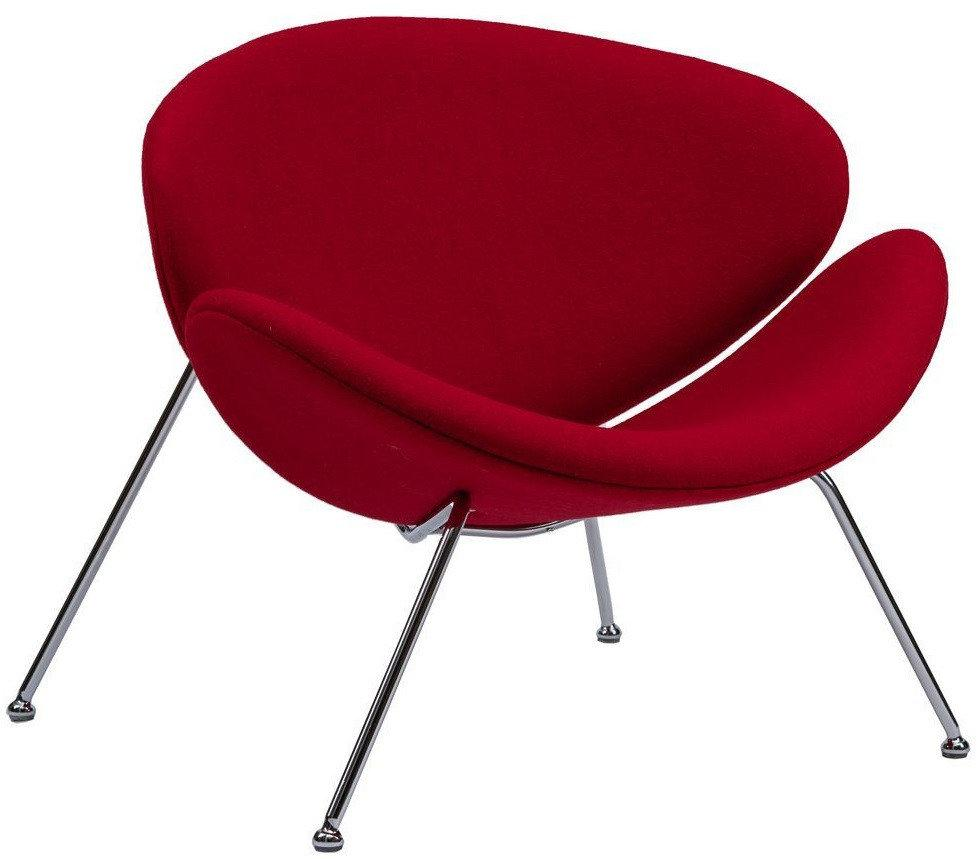 Кресло-лаунж Foster красное TM Concepto