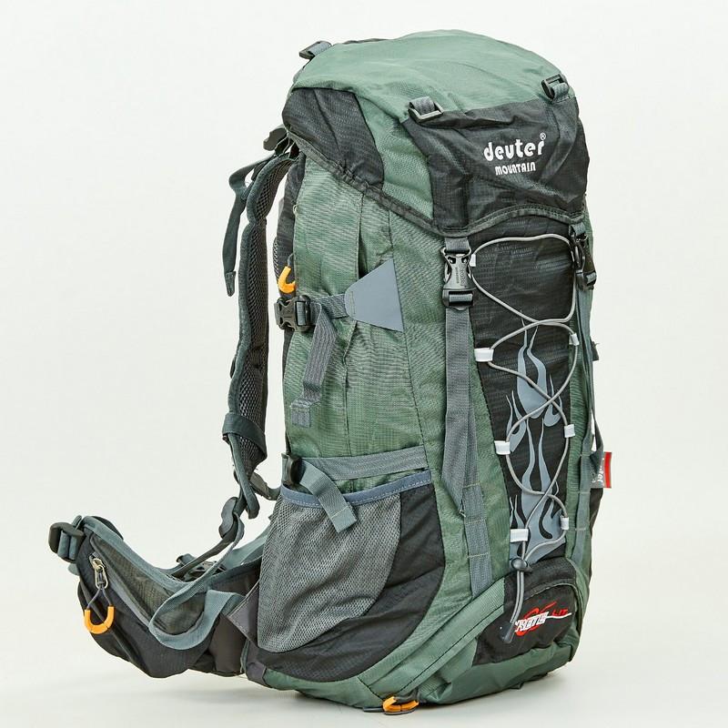 Туристический рюкзак Deuter Mountain Grete 65 л. GA-G34 цвет оливка с  черным