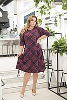Платье трикотажное в расцветках 41277, фото 1
