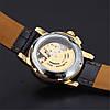 Механические часы с автоподзаводом Winner Mini (black-gold), фото 3