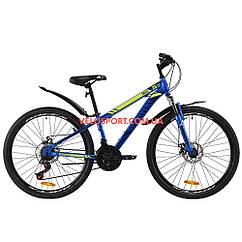 """Горный велосипед Discovery Trek DD 26 дюймов 13"""", Синий"""