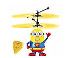 Игрушка-вертолет BauTech Летающий Супермен | Детская летающая игрушка на управлении Миньон, фото 4