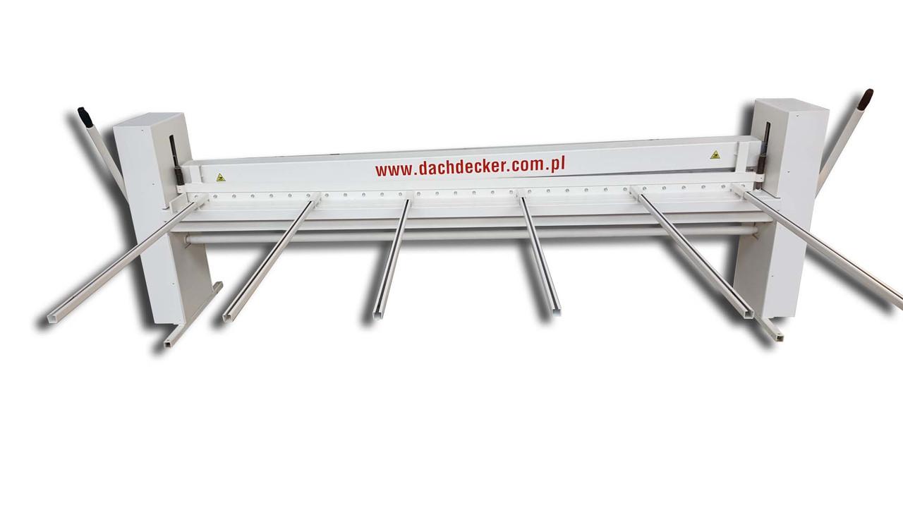 Гильотина ручная для листового металла   гильотинные ножницы по металлу ручные ZRA Dachdecker