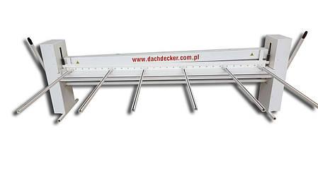 Гильотина ручная для листового металла   гильотинные ножницы по металлу ручные ZRA Dachdecker, фото 2