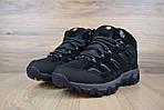 Мужские зимние кроссовки Merrell Moab (черные), фото 5