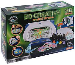 Только опт!!! Принтер детский 3D Making с набором картриджей со светящимся жидким полимером